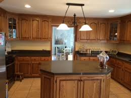 whitewashing honey oak kitchen cabinets the process begins