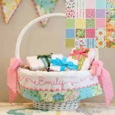 Pottery Barn Baskets With Liners Tada Creations Easter Basket Liners Made To Fit Pottery Barn