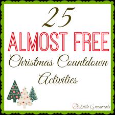 25 super fun u0026 free christmas countdown activities