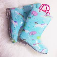 light up rain boots 25 off members mark shoes nwot unicorn light up rain boots poshmark