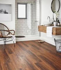 Wood Floor Bathroom Ideas Bathroom Flooring Ideas And Advice Karndean Designflooring
