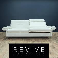 designer sofa leder ewald schillig designer leder sofa weiß zweisitzer relax