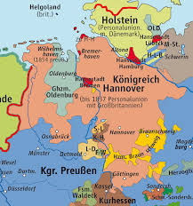 Unification Of Germany Map by Political History Why Was The Shape Of German States Pre Wwii