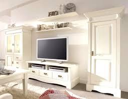 Wohnzimmer Ideen Shabby Wohnwand Creme