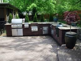 Outdoor Ideas For Backyard Dining Room Granite Sets Outdoor Kitchen Design Ideas Backyard