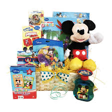 mickey mouse easter basket easter gift baskets for children mickey mouse