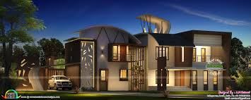 Modern Home Floor Plans Ultra Modern Home Design Of 2016 Kerala Home Design And Floor