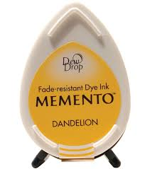 tsukineko memento dew drop dye inkpads joann