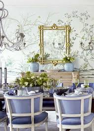 Purple Dining Room Ideas by Romantic Dining Area With Tree Wallpaper Purple Chair And Sleek