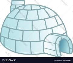 igloo royalty free vector image vectorstock