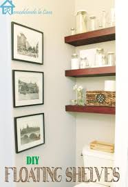 Decorative Wall Shelf Sconces Storage U0026 Organization Incredible Diy Hanging Shelves