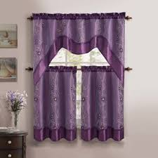Purple Valances For Windows Ideas 7 Best Kitchen Curtains Images On Pinterest Kitchen Curtains