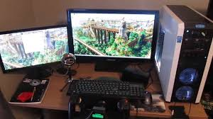pc gaming setup 2014 youtube