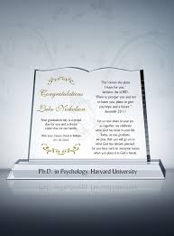 graduation plaque christian graduation gift plaque phd graduation gifts phd