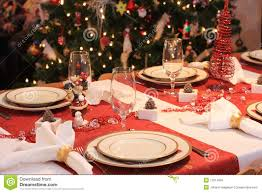 table dinner christmas dinner table stock image image of tree glass 11614005