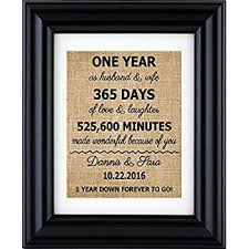 1 year anniversary gift for him 1st anniversary gift for husband boyfriend or