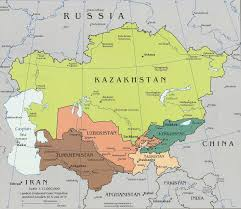 Map Of Central Asia Worldrecordtour Asia Central Asia Tajikistan Dushanbe Khujand
