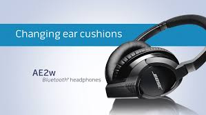 Bose Ae2 Replacement Ear Cushions How To Change The Ear Cushions On Your Bose Ae2w Bluetooth