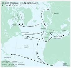 Iberia Route Map by British Atlantic American Frontier Canadian American Center