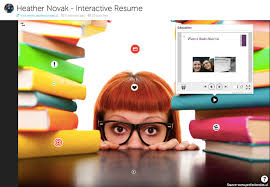 Interactive Resumes Blended Resumes Smore