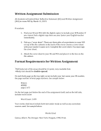Assignment Cover Sheet by Written Assignment Submission Guide