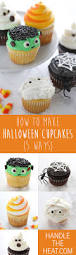 Halloween Mummy Cakes How To Make Halloween Cupcakes Handle The Heat