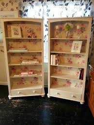 shabby chic bookcase distressed bookcase shabby chic bookcase