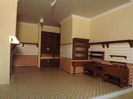 dollhouse kitchen furniture late victorian english manor dollhouse 1 12 miniature from