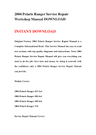 100 2010 parts manual for ranger 800 2013 2015 polaris