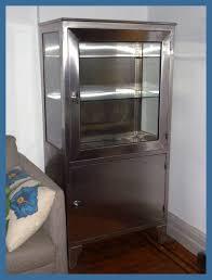 Stainless Steel Medicine Cabinet by Vintage Stainless Steel Medical Cabinet Front Vintage Stai U2026 Flickr