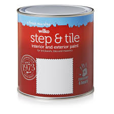 wilko matt brick and tile paint red 1l at wilko com