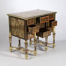 bureau boulle small mazarin desk with boulle marquetry louis xiv period expertissim