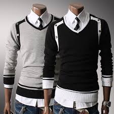 yourself style novelty s sweaters cool slim casual