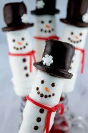 snowman marshmallows snowman marshmallow pops two