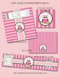 pink owl baby shower invitations paper perfection owl baby shower printables