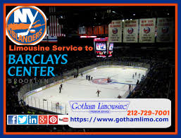 ny islanders limousine service to barclays center