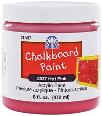 folk art home decor chalk paint folkart chalkboard paint 8oz joann
