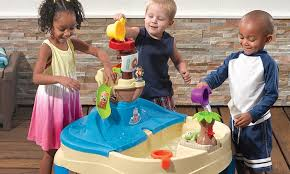 Toddler Water Table High Seas Sand U0026 Water Table Groupon Goods