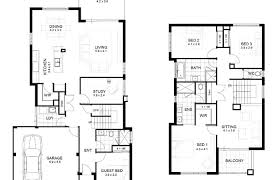how to design house plans modern house plans 2 story plan awesome ideas designs