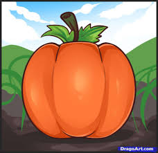 how to draw pumpkins step by step food pop culture free online