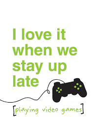 Girls Playing Video Games Meme - i love it when we stay up late 8x10 digital by quarkandbeans 7 00