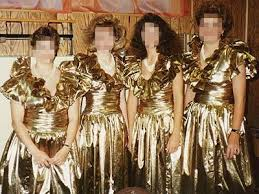 disgusting wedding dresses top 10 ugliest bridesmaid dresses
