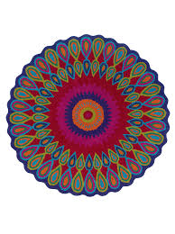 Round Pink Rugs by Amazon Com Lr Resources Trade Am Vibrance Miami Round Rug 3 Feet