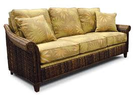 rattan sleeper sofa rattan and wicker sofas sleeper island florida contemporary sofa