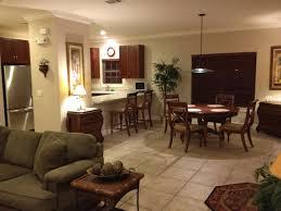 kitchen living room dining room