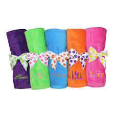 personalized towels with name monogrammed towels