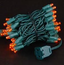 led christmas lights wide angle orange 50 bulb led christmas lights sets 11