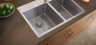 How To Replace A Drop In Kitchen Sink - crosstown stainless steel kitchen sinks elkay