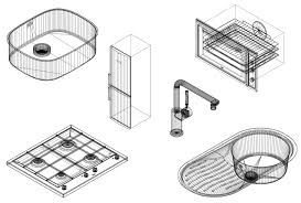 autocad blocks bathroom fixtures