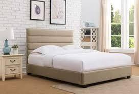 King Upholstered Platform Bed Platform Beds Platform Bed Bases Metal Upholstered Platform Beds